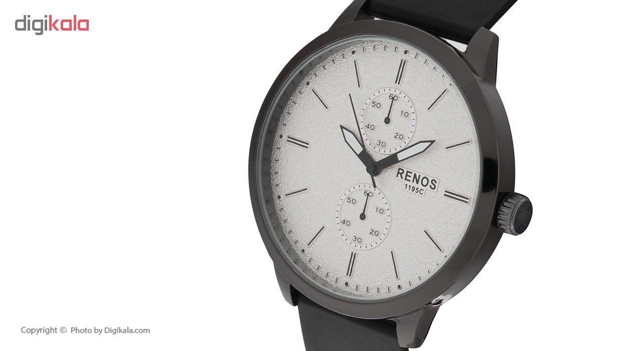ساعت مچی عقربه ای مردانه  رنوس مدل KJ-8759