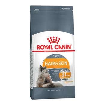غذای خشک گربه رویال کنین مدل Hair and Skin وزن 2 کیلوگرم