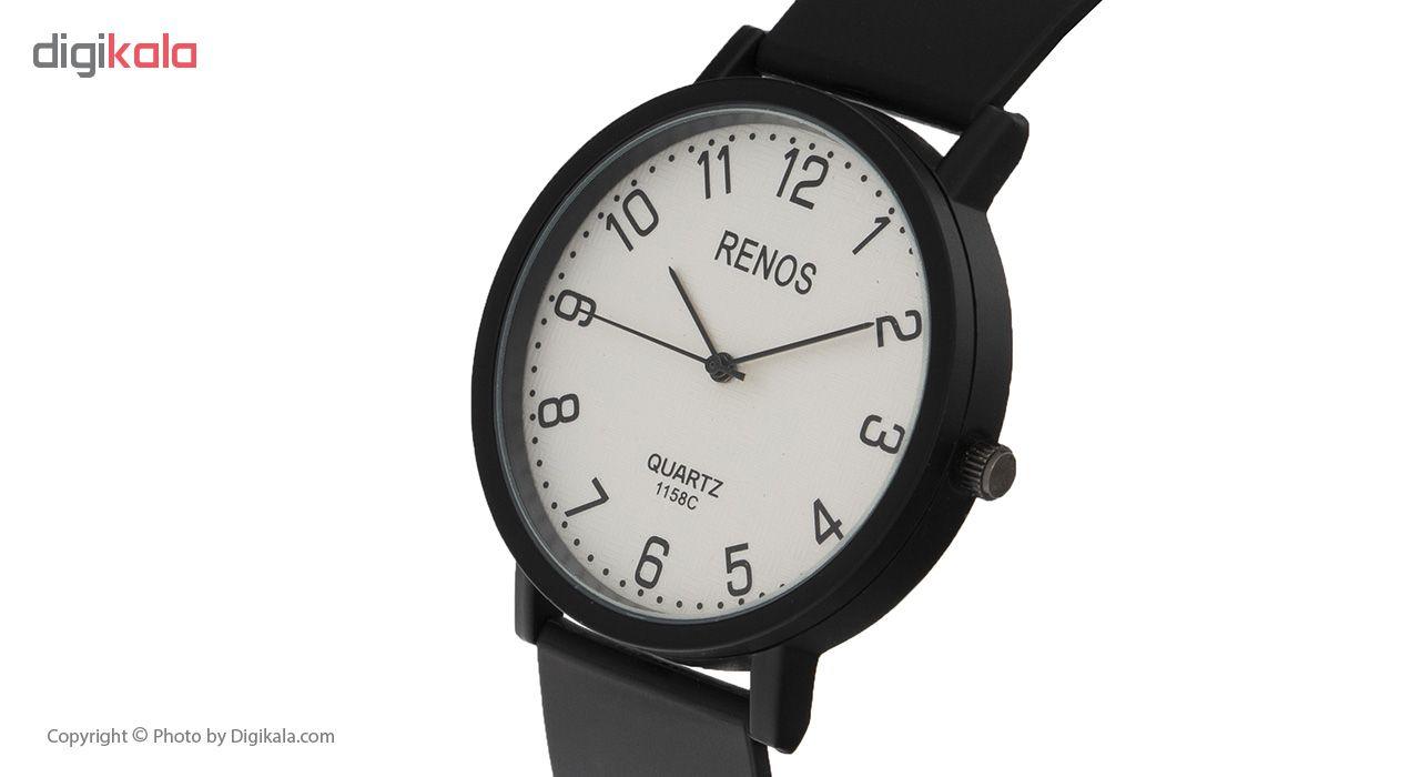 ساعت مچی عقربه ای مردانه رنوس کد KG-968