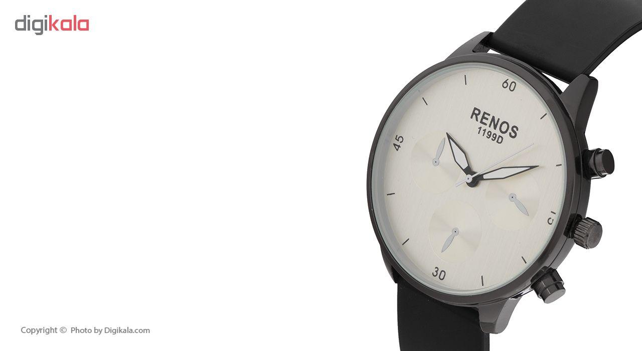 خرید ساعت مچی عقربه ای مردانه رنوس کد 4578RS