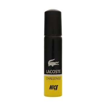 عطر جیبی مردانه نایس پاپت مدل Lacoste Challenge حجم 30 میلی لیتر