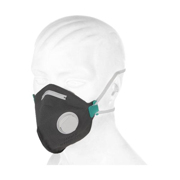 ماسک تنفسی فیلتر دار میداس مدل HY82226FFP2  کد 18