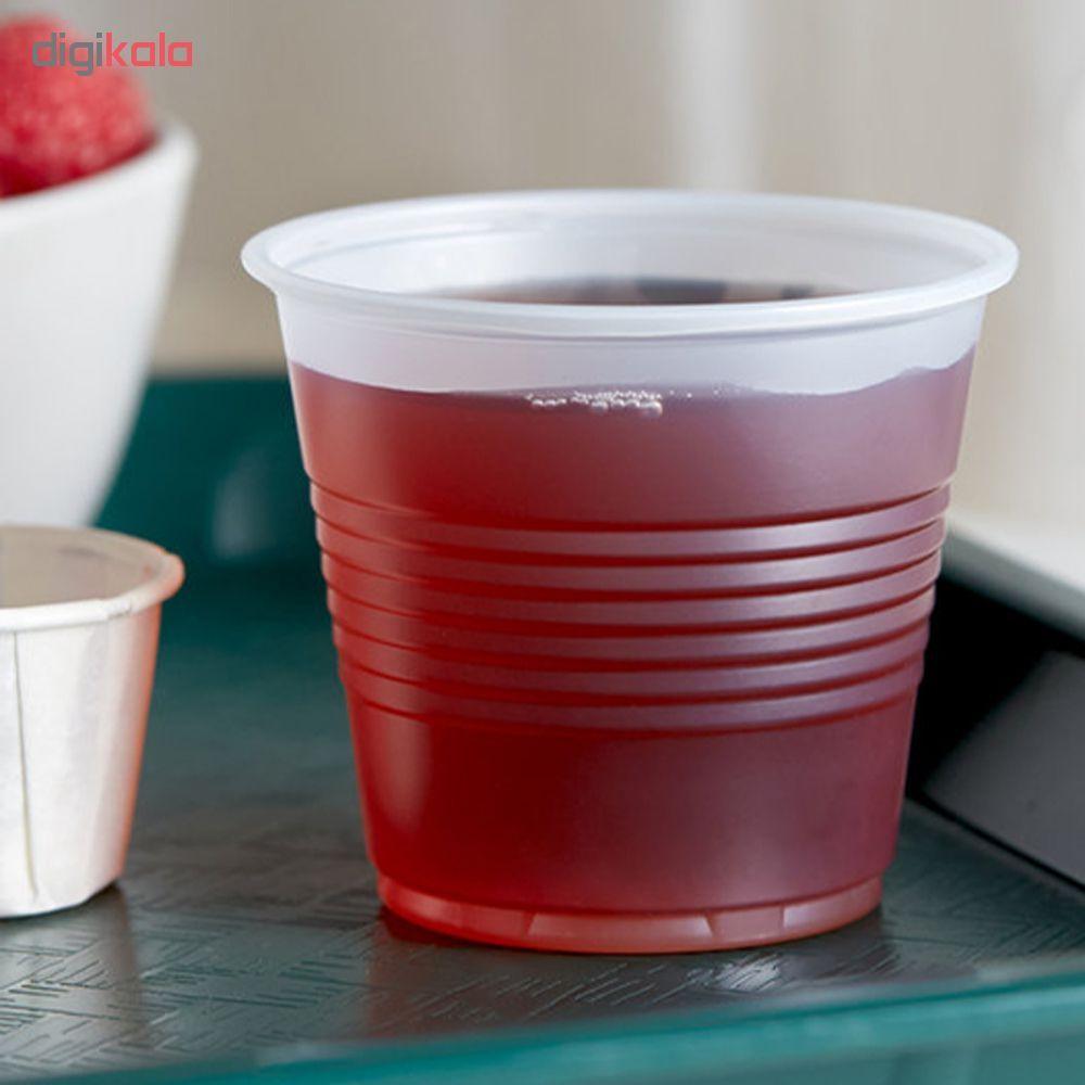 لیوان یکبار مصرف نیک پلاستیک تمیزی کد 0200 بسته 500 عددی main 1 3