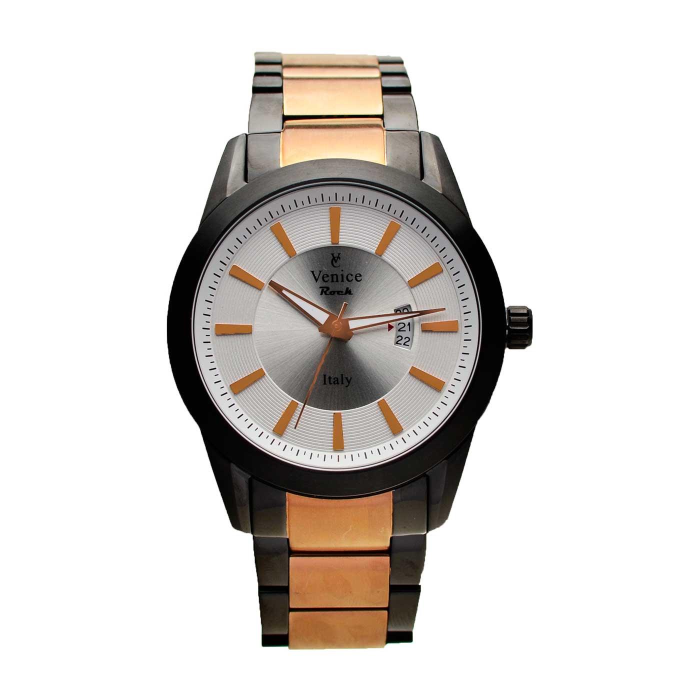 ساعت مچی عقربه ای مردانه ونیز مدل SV4010 15