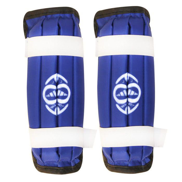 ساق بند تکواندو مدل Azul Smol بسته دو عددی