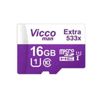 کارت حافظه microSDHC ویکو من مدل Extra 533X کلاس 10 استاندارد UHS-I U1 سرعت 80MBps ظرفیت 16 گیگابایت