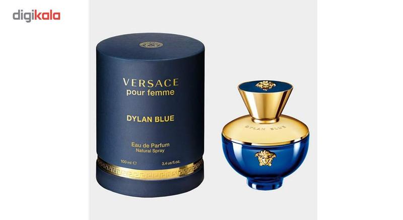 ادو پرفیوم زنانه ورساچه مدل  Dylan Blue حجم 100 میلی لیتر