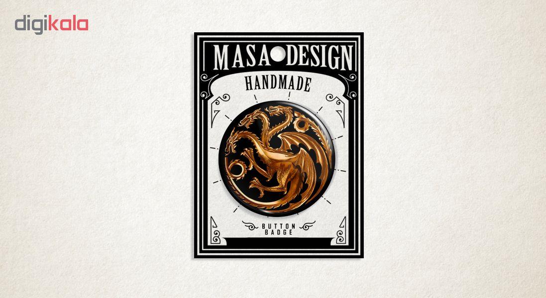 پیکسل ماسا دیزاین طرح گیم آف ترونز کد ASB73