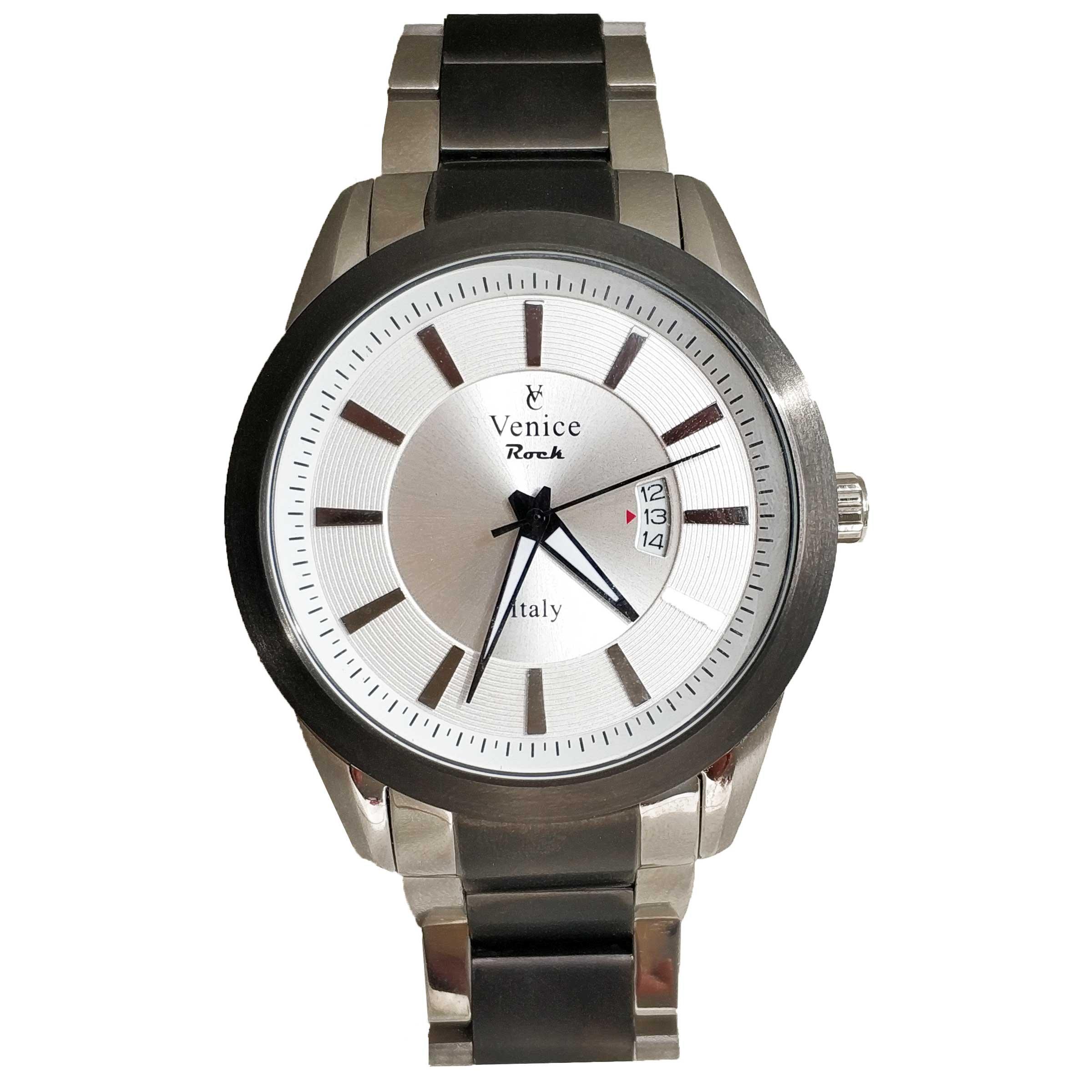 ساعت مچی عقربه ای مردانه ونیز مدل SV4010 7