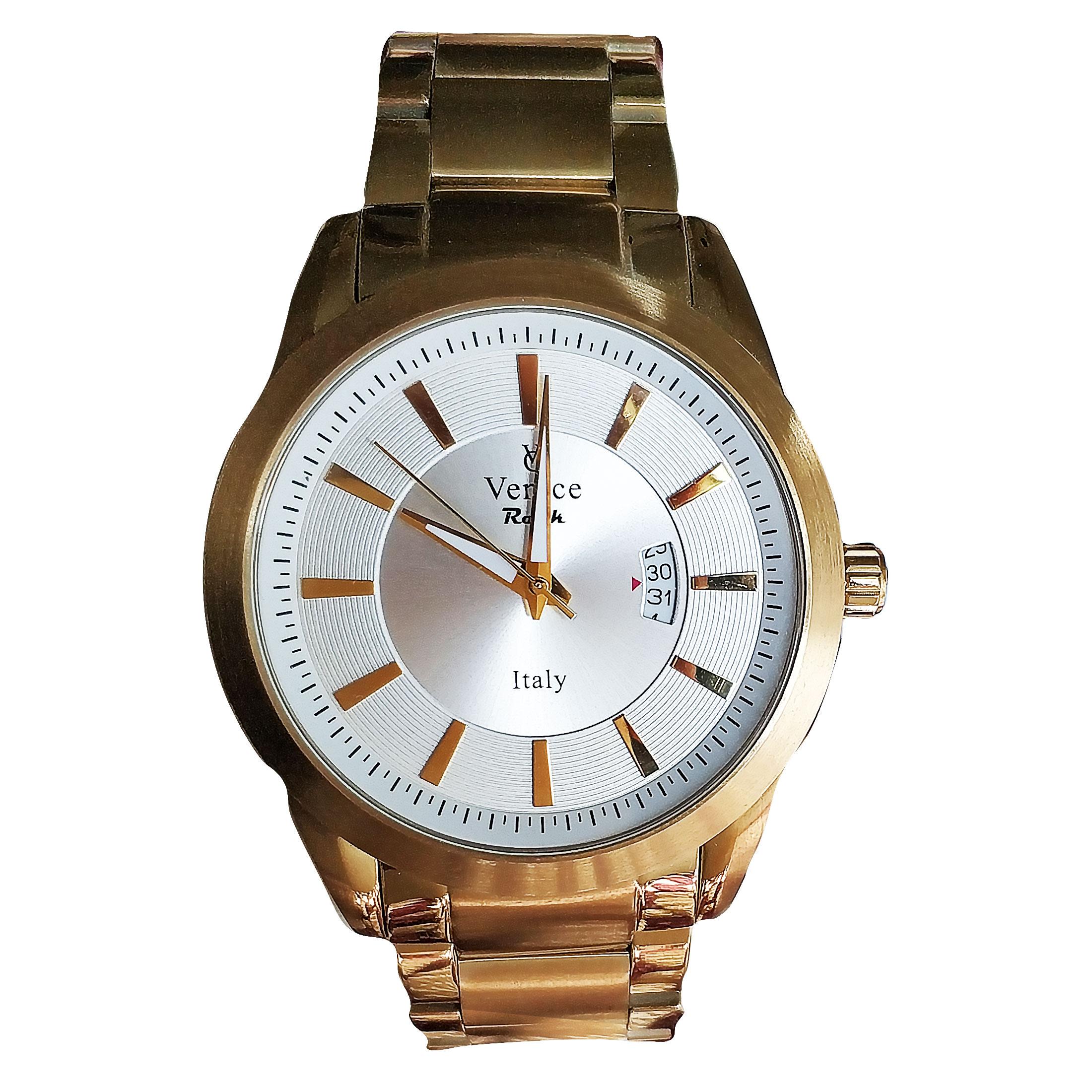 ساعت مچی عقربه ای مردانه ونیز مدل SV4010