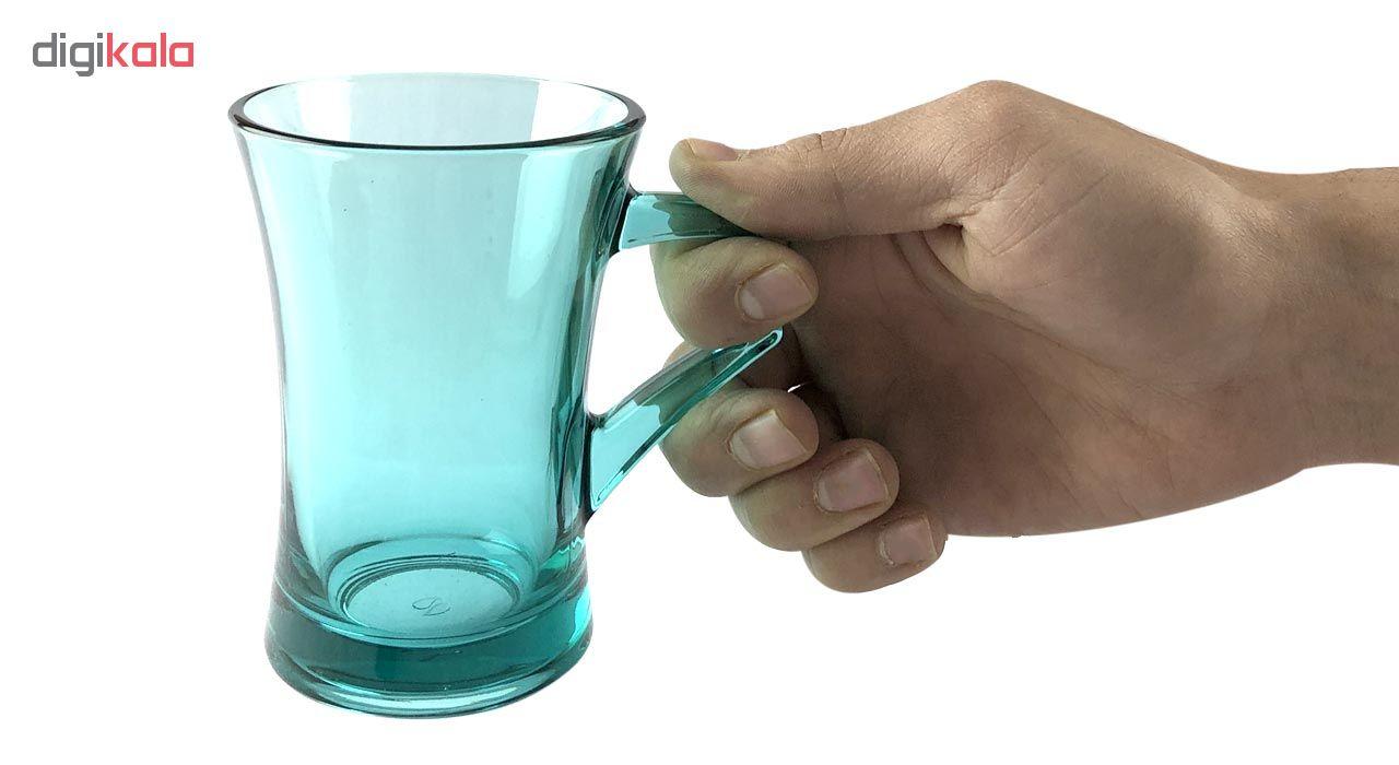 لیوان پاشاباغچه مدل آیزمیر بسته 6 عددی