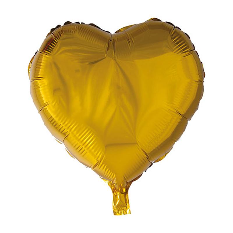 عکس بادکنک فویلی طرح قلب کد 3791