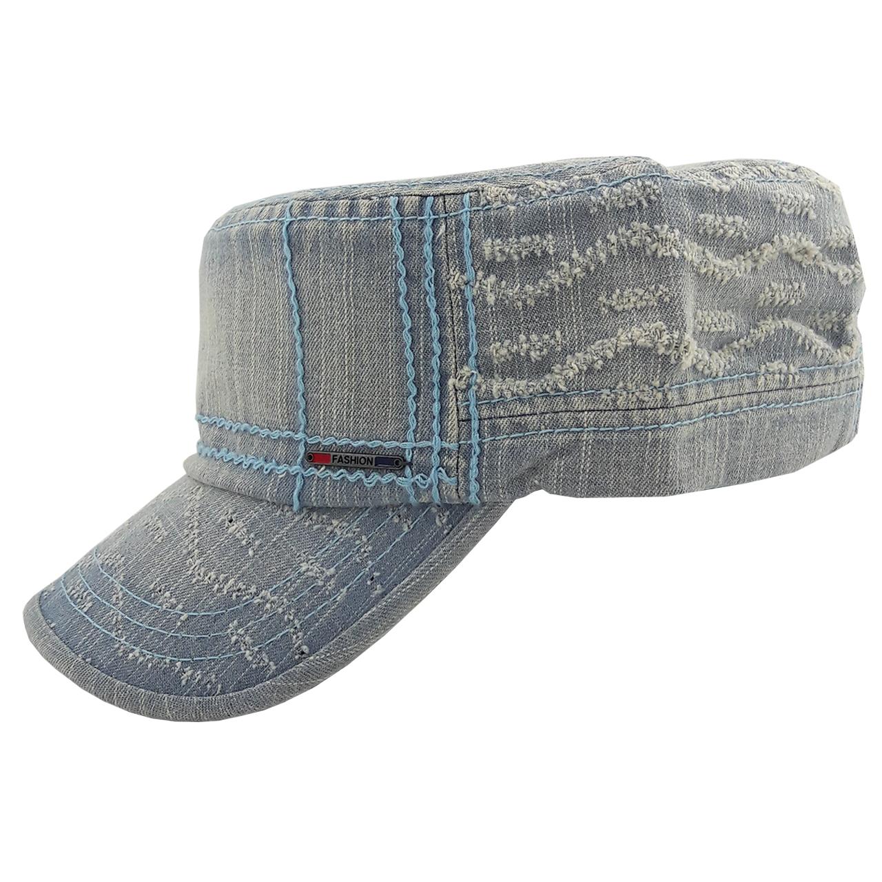 کلاه کپ مردانه مدل Lee.blu-01