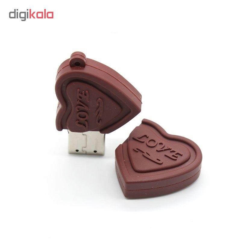 فلش مموری طرح شکلات قلبی مدل Ultita-Ch02 ظرفیت 8 گیگابایت