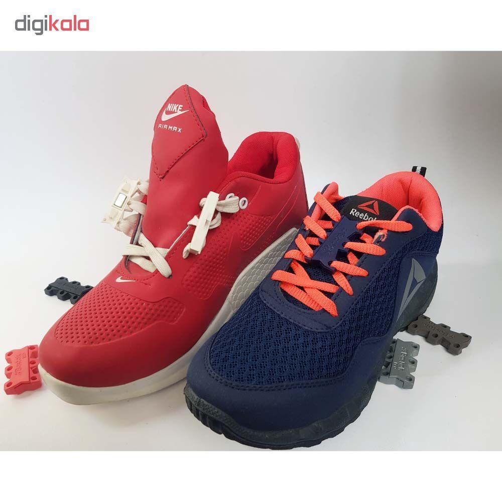 بند کفش مغناطیسی بستاک مدل اِکو E112 رنگ قهوه ای main 1 13
