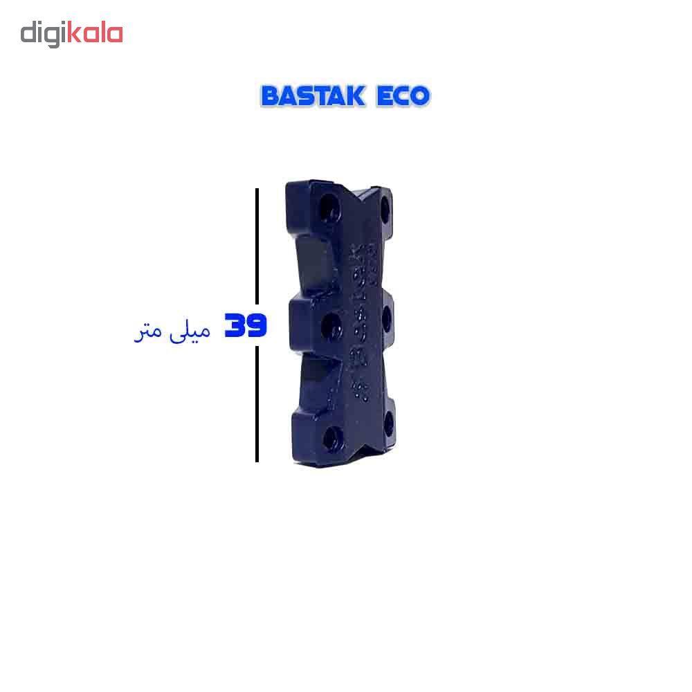 بند کفش مغناطیسی بستاک مدل اِکو E112 رنگ قهوه ای main 1 16