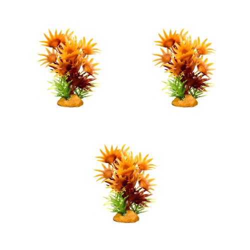 گیاه مصنوعی آکواریوم کد 24 بسته 3 عددی
