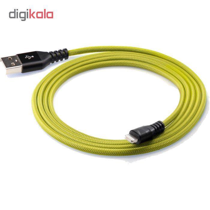 کابل تبدیل USB به لایتنینگ آیفون آی ماس مدل Armor tough طول 1.8 متر main 1 18