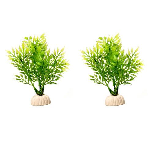 گیاه مصنوعی آکواریوم کد 25 بسته 2 عددی