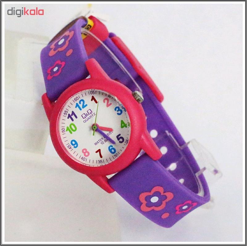 ساعت مچی عقربه ای دخترانه کیو اند کیو مدل VR99J001Y