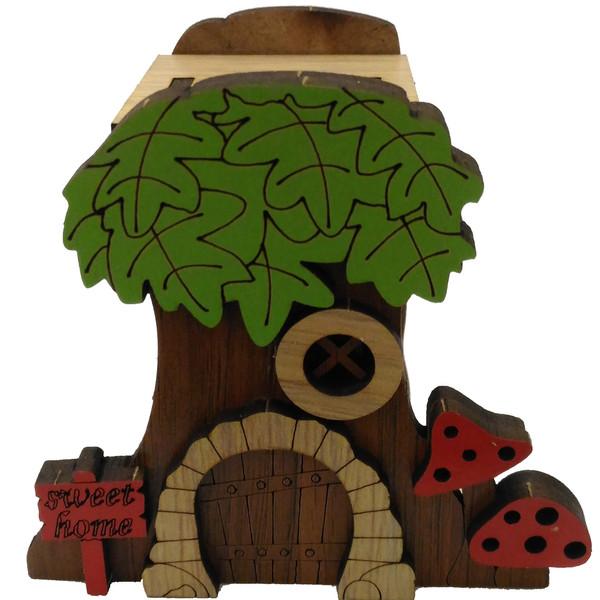 ماکت دکوری طرح خانه درختی کد ck064