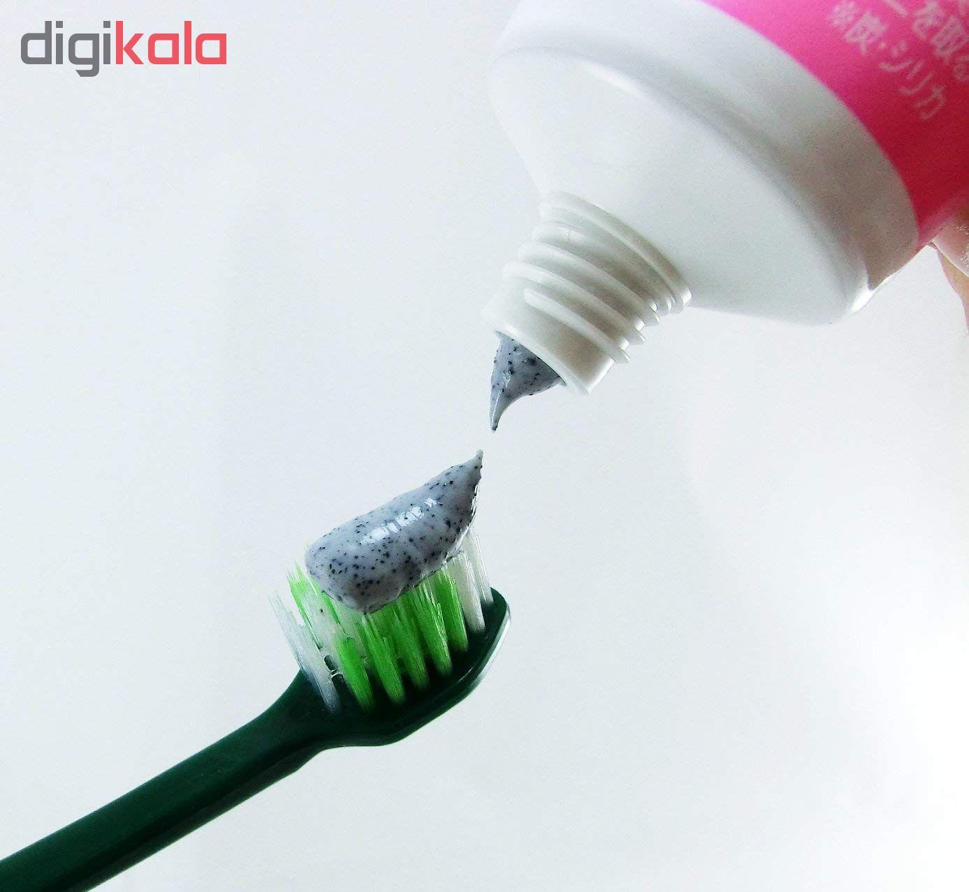خمیر دندان زغالی سفید کننده کوبایاشی مدل SUMIGAKI وزن ۹۰ گرم main 1 2