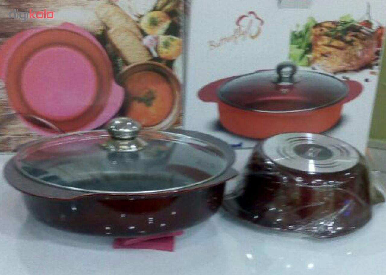 سرویس پخت و پز 10 پارچه تکنو مدل Butterfly-C main 1 7