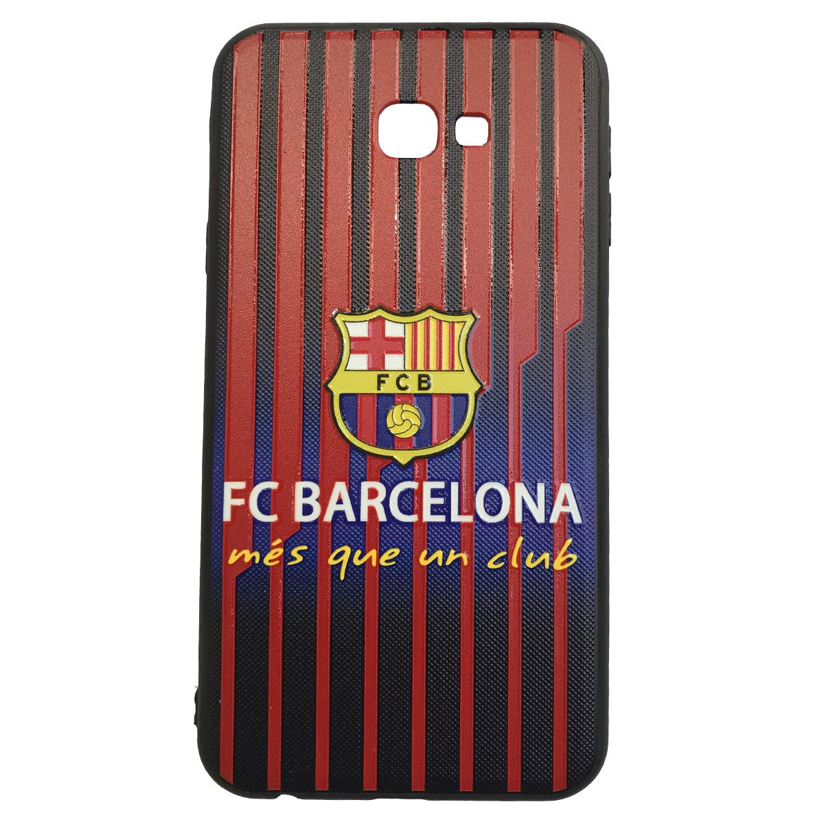 کاور طرح بارسلونا کد 01 مناسب برای گوشی موبایل سامسونگ Galaxy j4 plus