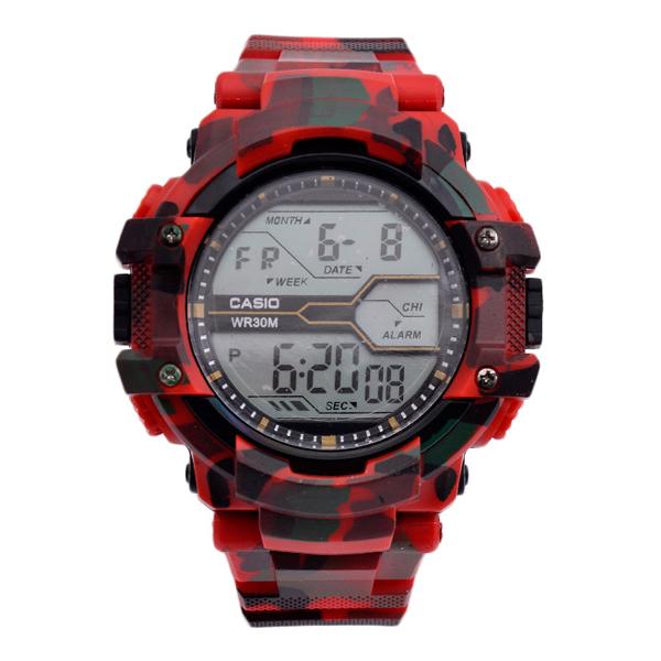 ساعت مچی دیجیتال مردانه مدل GSh-LeopardR