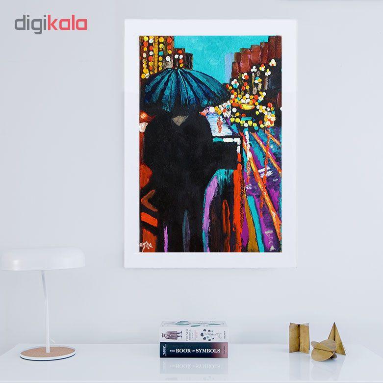 تابلو گالری استاربوی طرح تنهایی مدل هنری 13