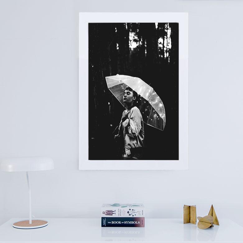 تابلو گالری استاربوی طرح چتر مدل هنری 59