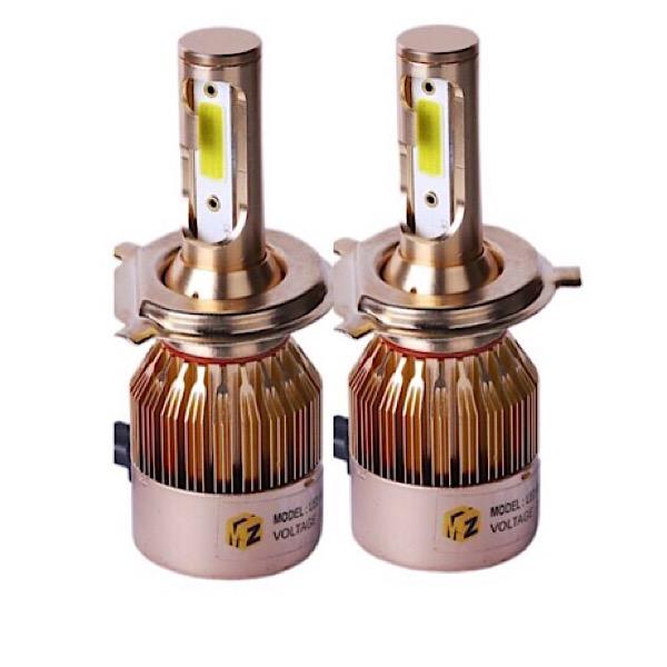 هدلایت لامپ خودرو D9 مدل H4 بسته ۲ عددی