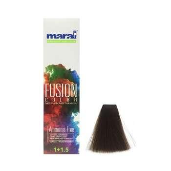 کیت رنگ مو مارال مدل Fusion شماره 5.895 حجم 100 میلی لیتر رنگ شکلاتی قهوه ای