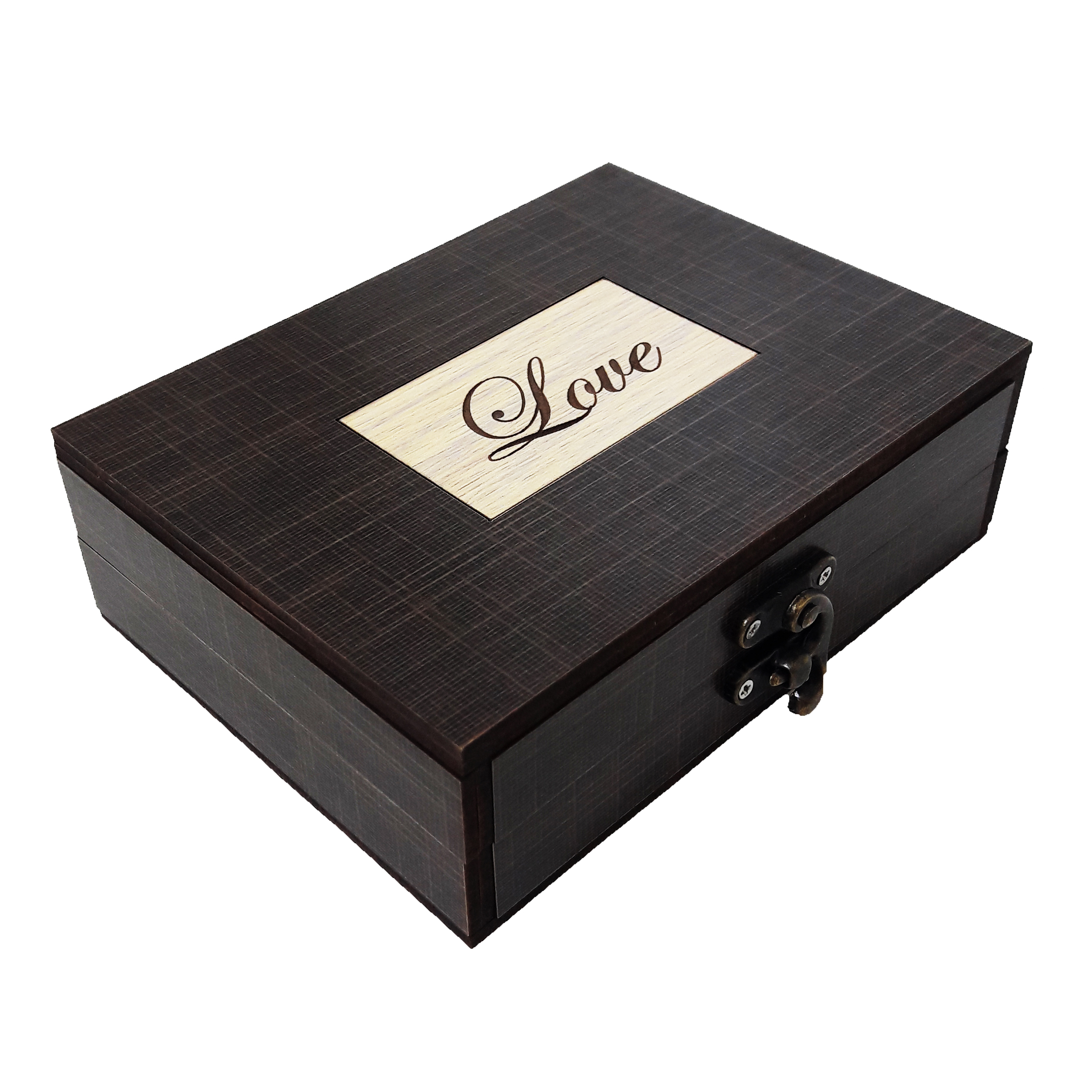 جعبه هدیه چوبی کادو آیهان باکس مدل 113