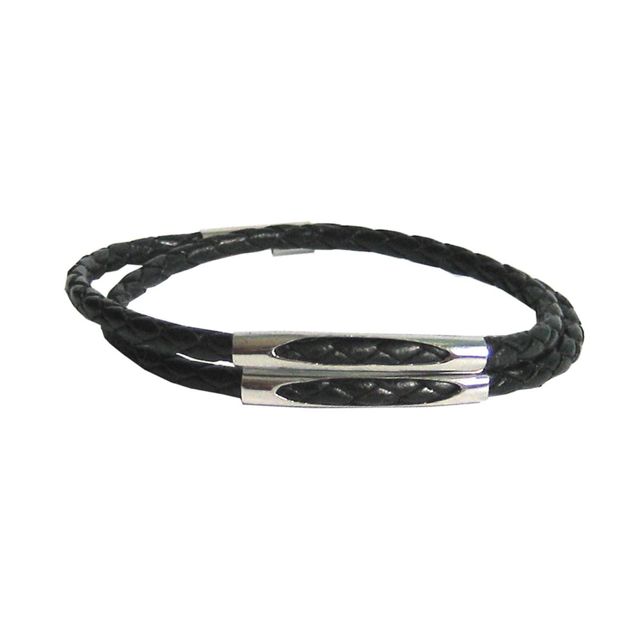 دستبند زنانه چرم دانوب مدل سهره کد 002