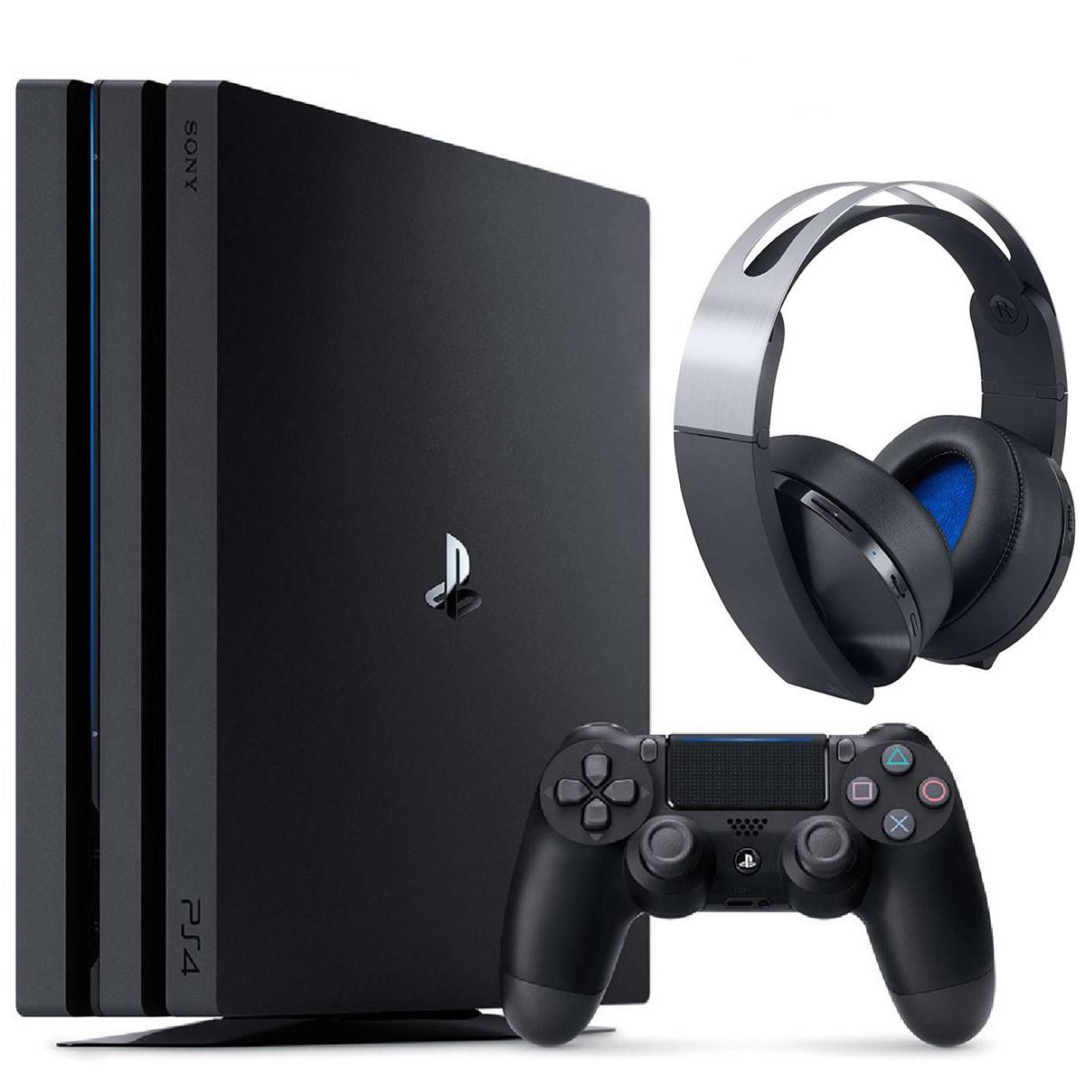 خرید                     مجموعه کنسول بازی سونی مدل Playstation 4 Pro 2018 ریجن 2 کد CUH -7216B ظرفیت 1 ترابایت