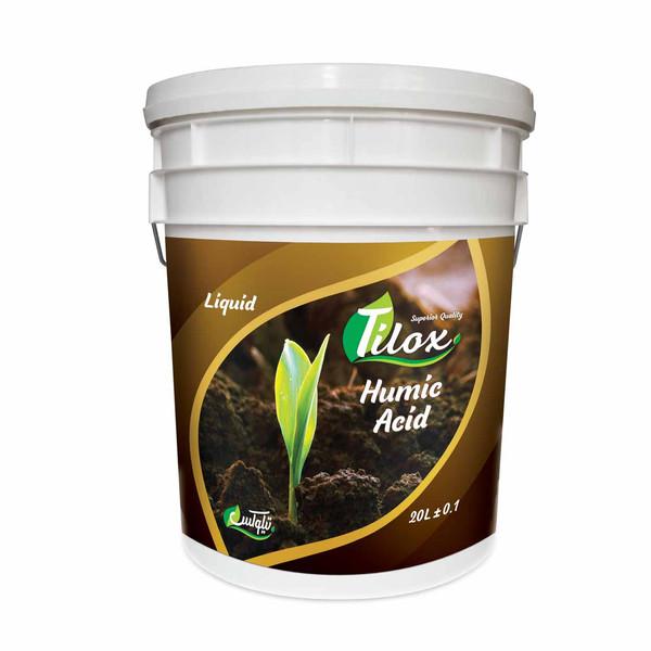 کود مایع هیومیک اسید سارکو سری تیلوکس کد4 حجم 20 لیتر