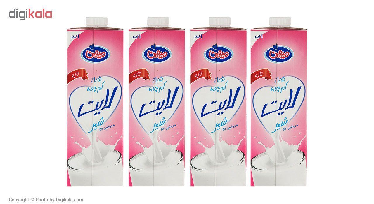 شیر کم چرب میهن - بسته 4 عددی main 1 1