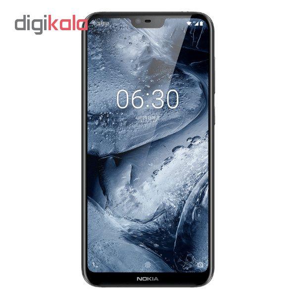گوشی موبایل نوکیا مدل 6.1Plus  دو سیم کارت ظرفیت ۶۴ گیگابایت                             Nokia 6.1Plus Dual SIM 64GB Mobile Phone