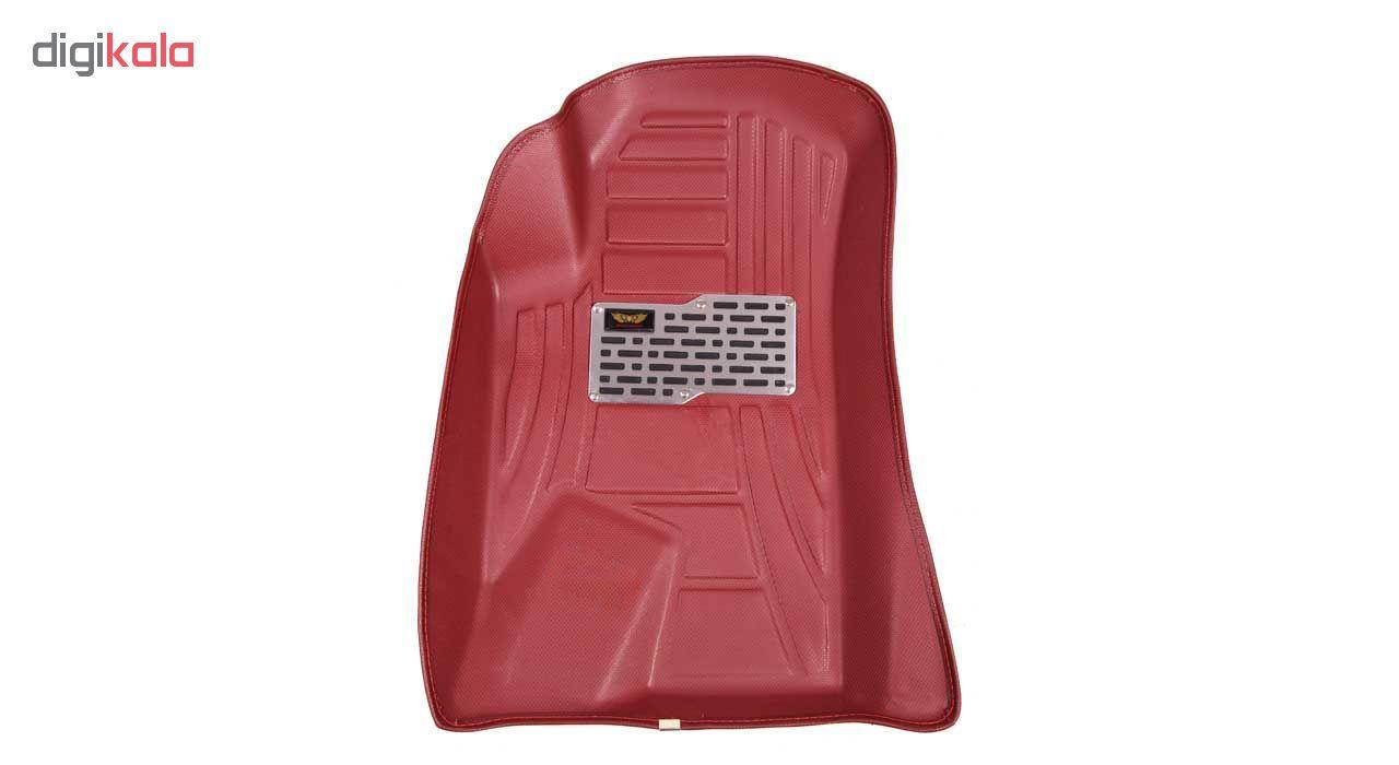 کفپوش سه بعدی خودرو ماهوت کد 8030 مناسب برای پژو پارس