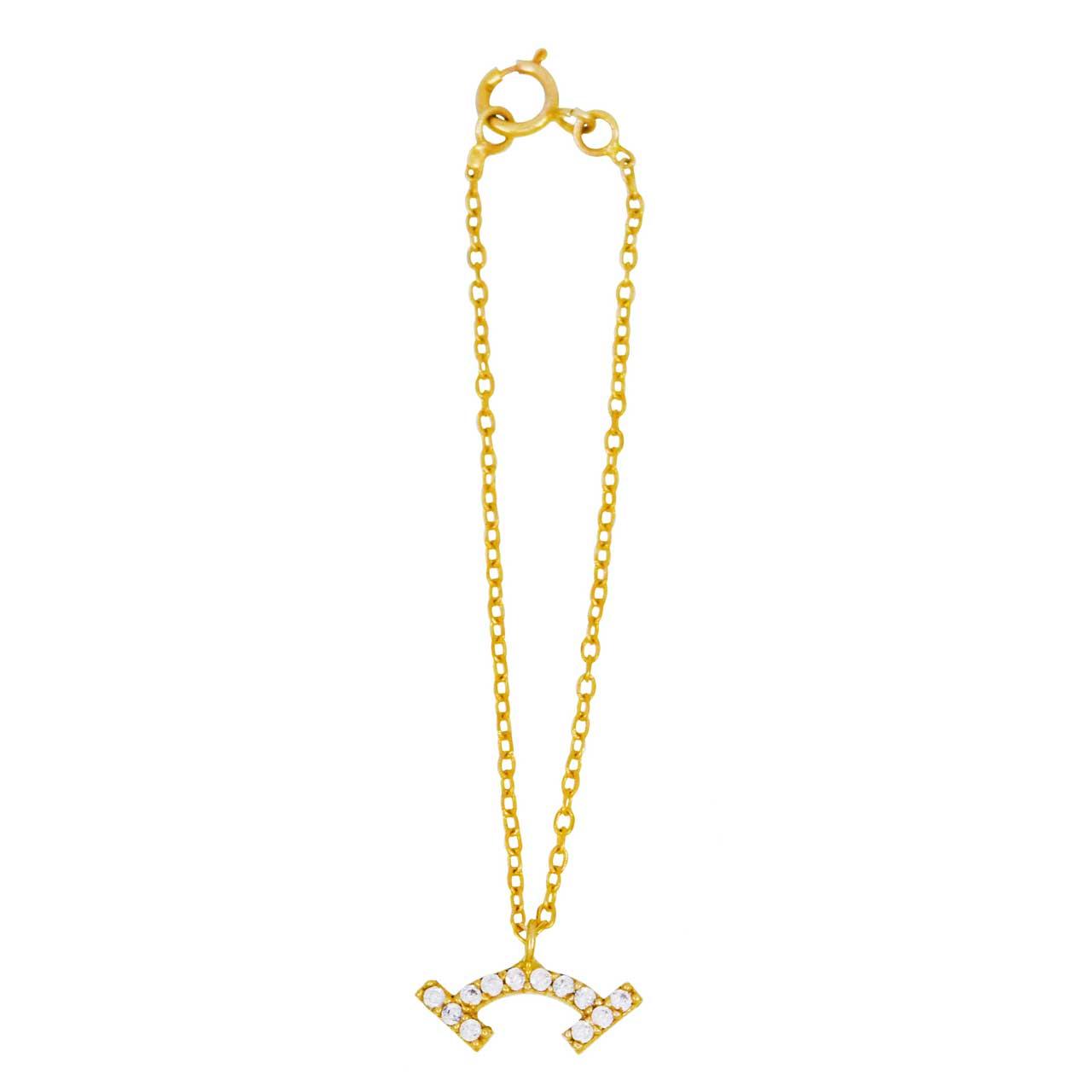 آویز ساعت طلا 18 عیار کانیار گالری مدل AS24