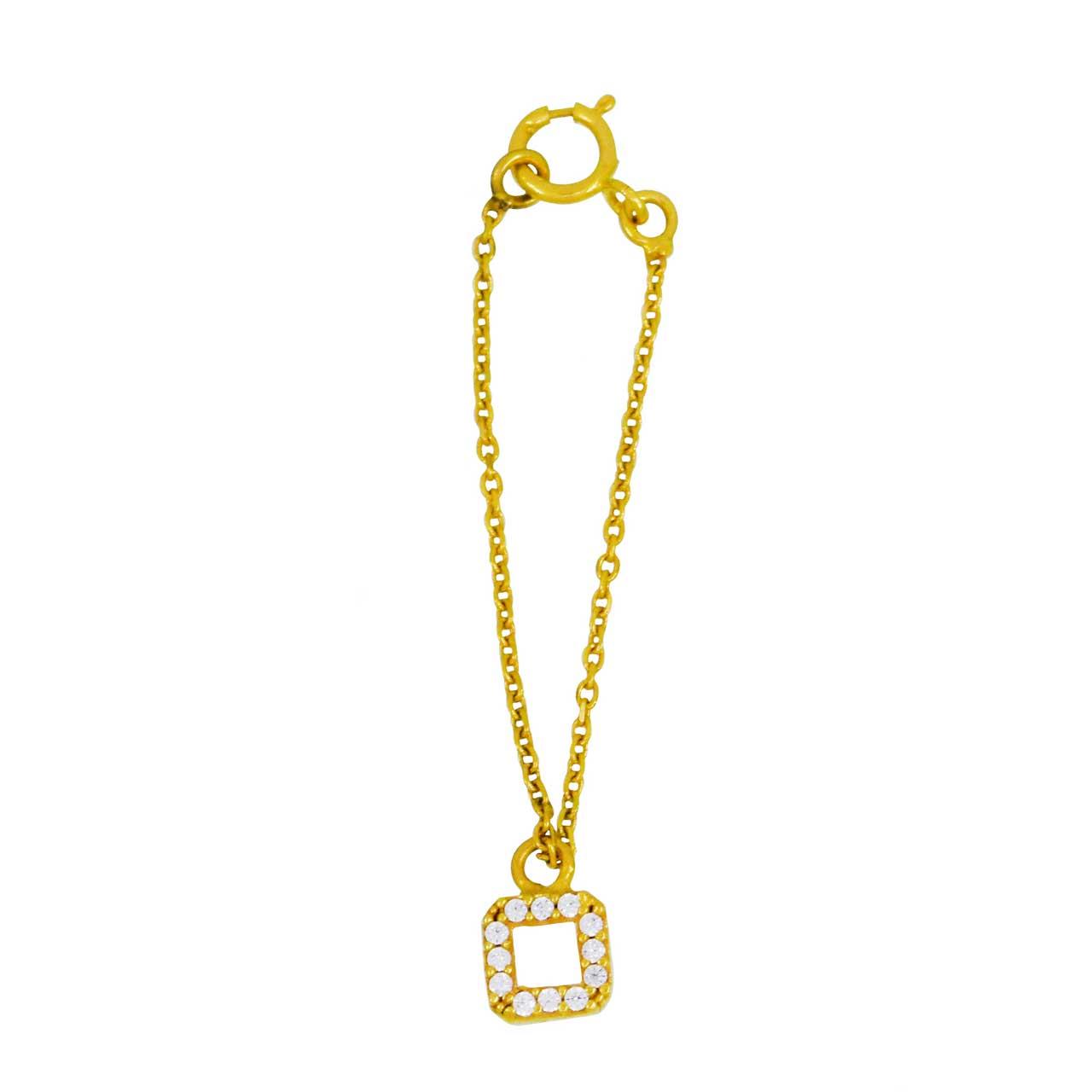 آویز ساعت طلا 18 عیار کانیار گالری مدل AS27