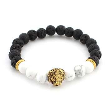 دستبند مردانه نازنین مدل CC-AO-10-101