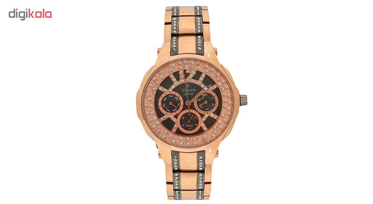 ساعت مچی عقربه ای زنانه ونیز مدل SV4005              ارزان