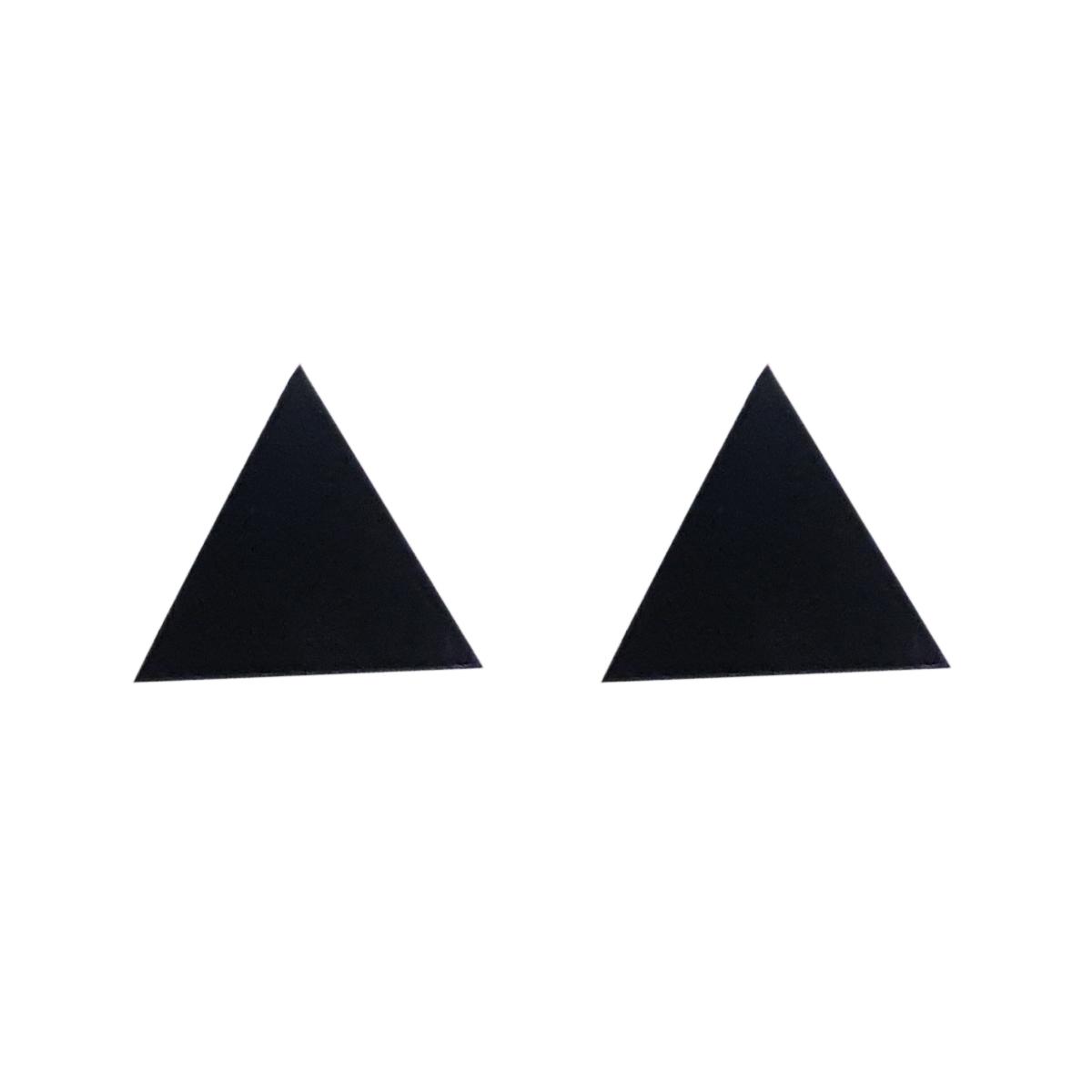 قیمت گوشواره مگنتی زنانه طرح مثلث مدل YG-17