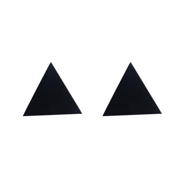 گوشواره مگنتی زنانه طرح مثلث مدل YG-17