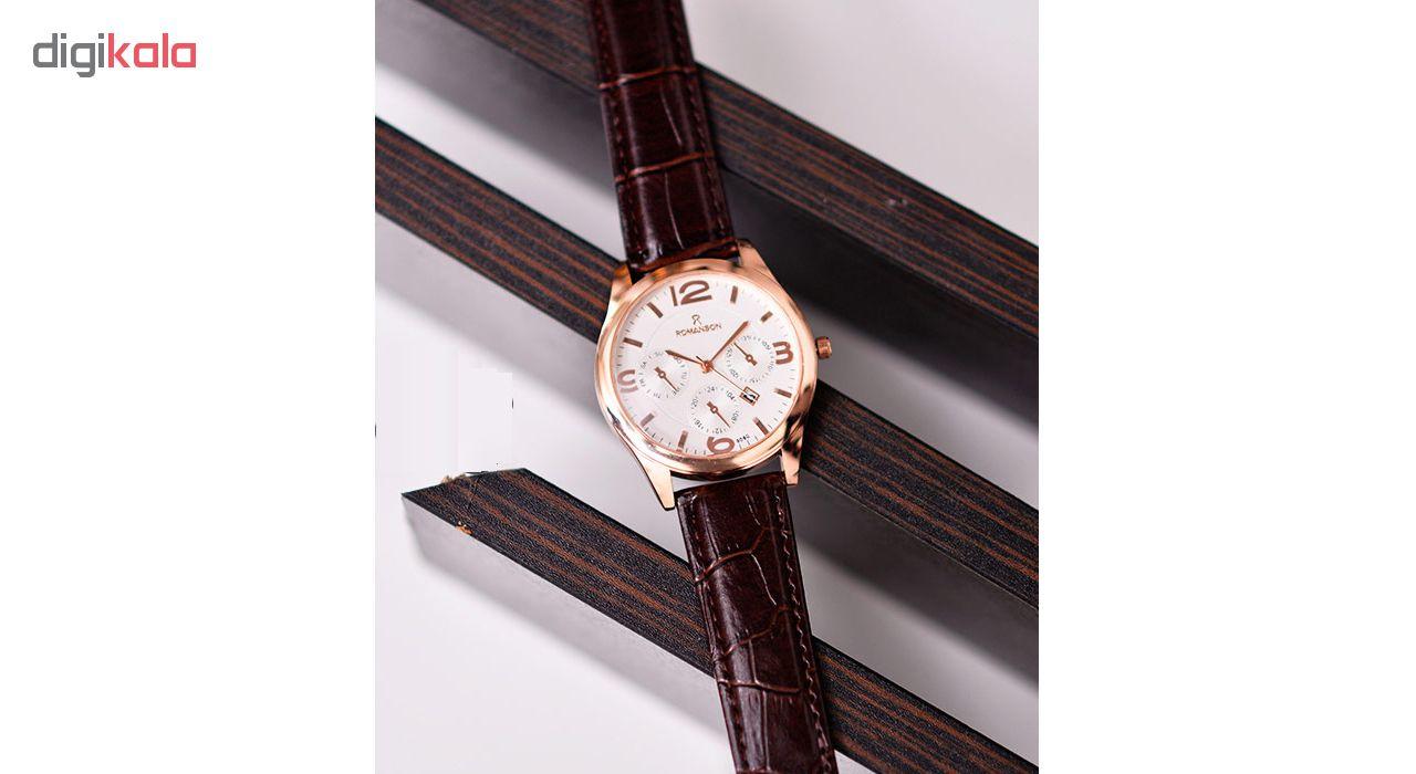 ساعت مچی عقربه ای مردانه مدل R3En-WH