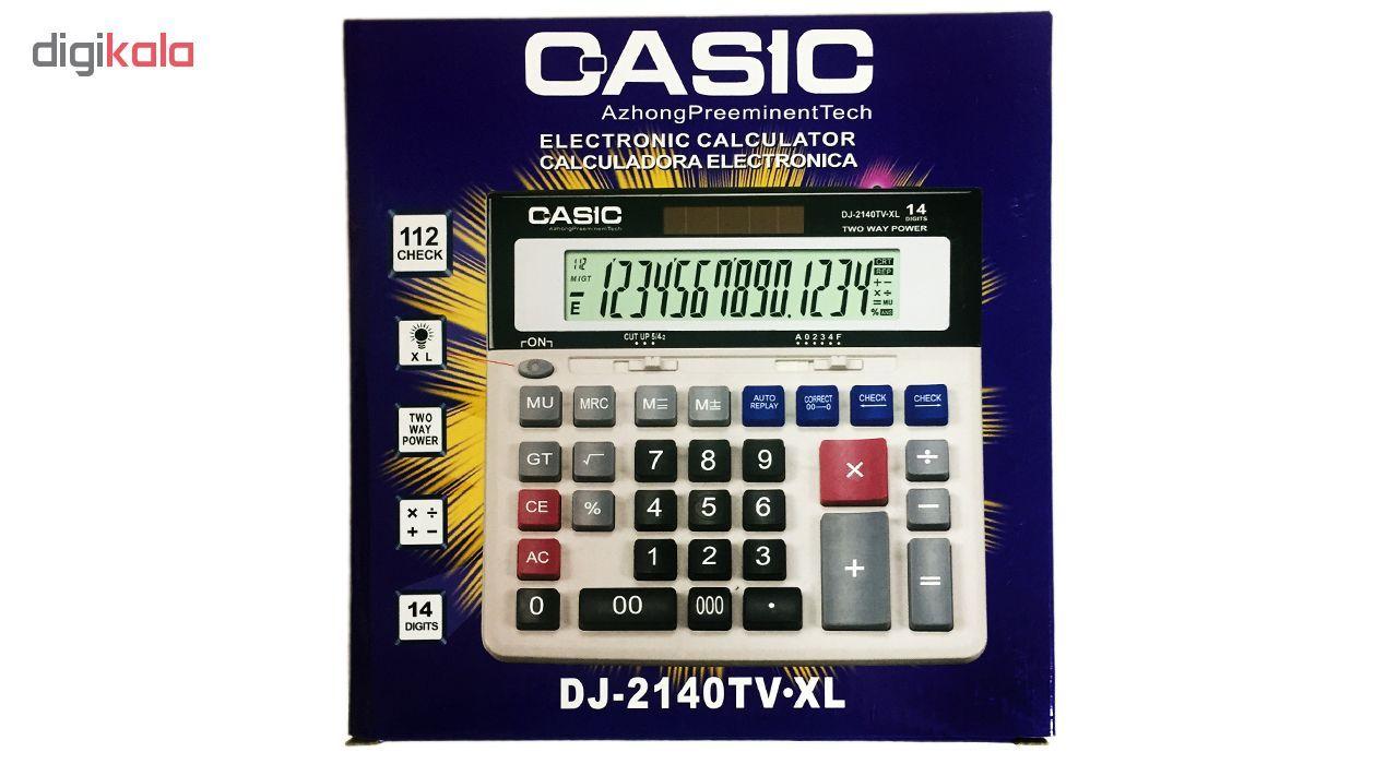 ماشین حساب کاسیک مدل DJ-2140TV.XL main 1 4