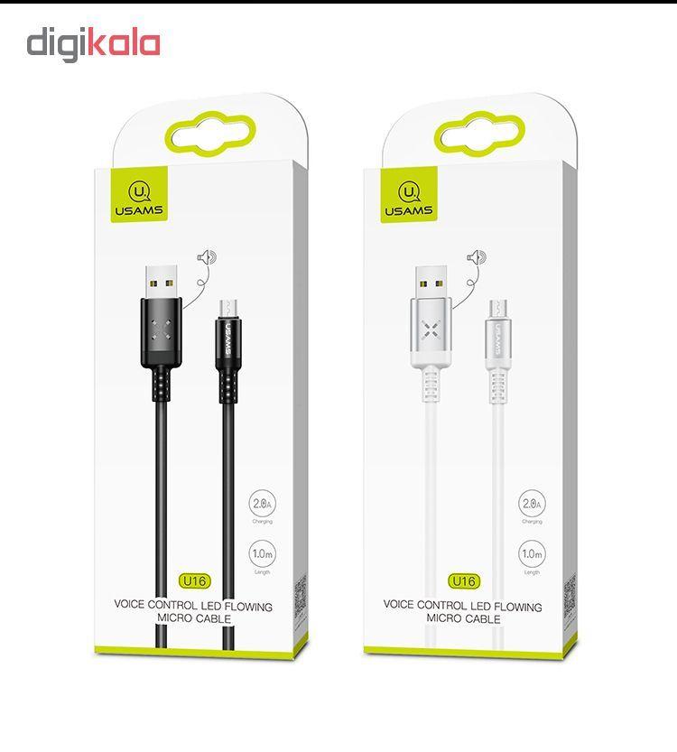 کابل تبدیل USB به microUSB یوسمز مدل US-SJ288 طول 1 متر main 1 8