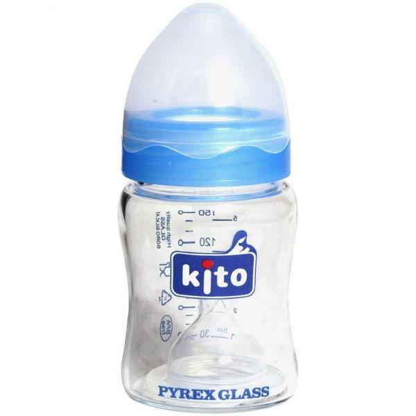 شیشه شیر کیتو کد 110 ظرفیت 150 میلی لیتر